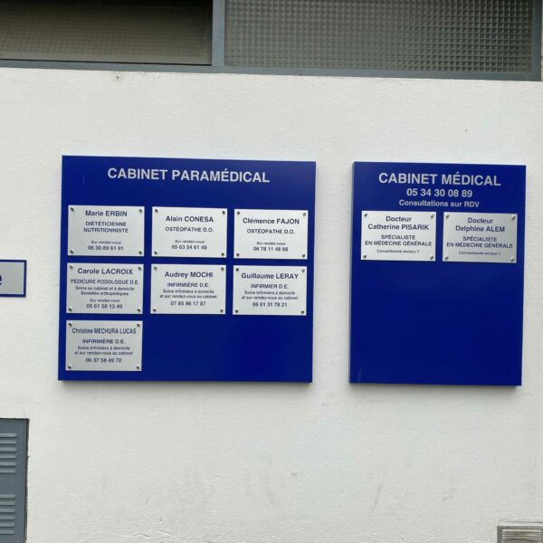 plaques cabinet